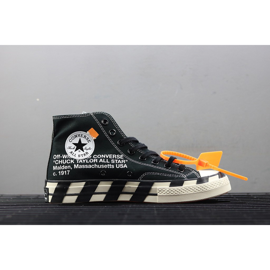 Converse Chuck Taylor All-Star 70s Hi Off-White Black