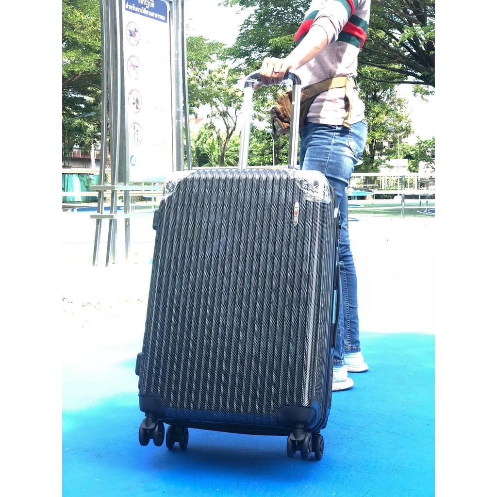 กระเป๋าเดินทาง สีดำ 24นิ้ว