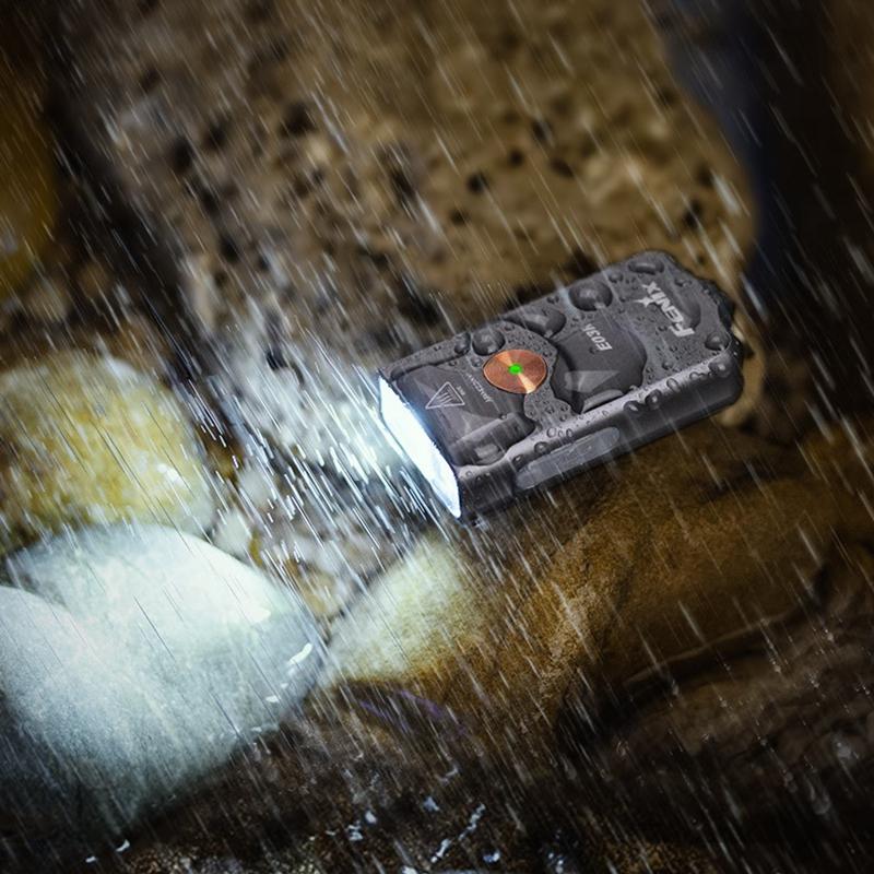 Fenix ฟีนิกซ์E03Rพวงกุญแจไฟฉายขนาดเล็กType-c นักเรียนที่แข็งแกร่งกันน้ำและพกพา260ลูเมน