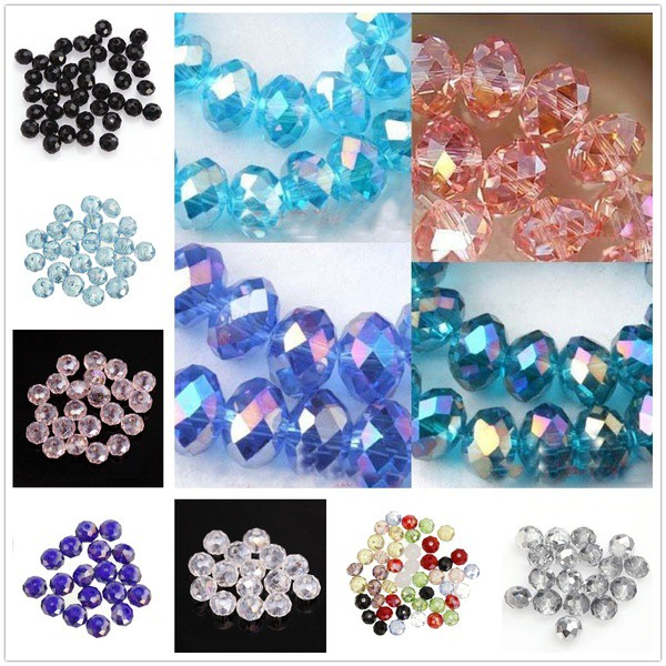 20Pcs Retro Metal Loose Spacer Beads Flower Charms for Jewelry Making Craft