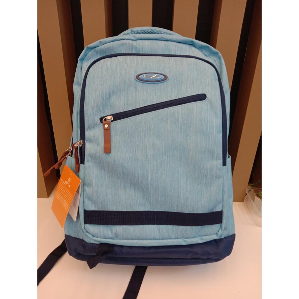 กระเป๋าเป้ DEVY สีฟ้า