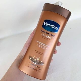 Review Vaseline Intensive Care Cocoa Glow 725 ml.