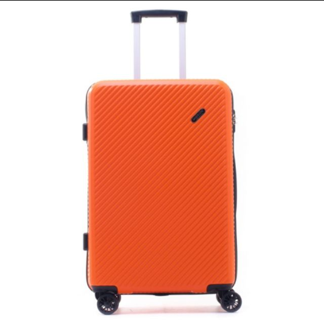 Caggioni Corperate : Orange Luggage กระเป๋าเดินทางขนาด 24 นิ้ว Design by Caggioni : สีส้ม