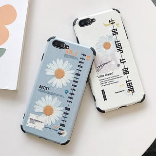 Review OPPO A52 A92 A31 A91 A9 A5 2020  F11 Pro F9 A3s A83 F1s A57 K3 Small Daisies Anti Crack / Shockproof Soft TPU Case QF