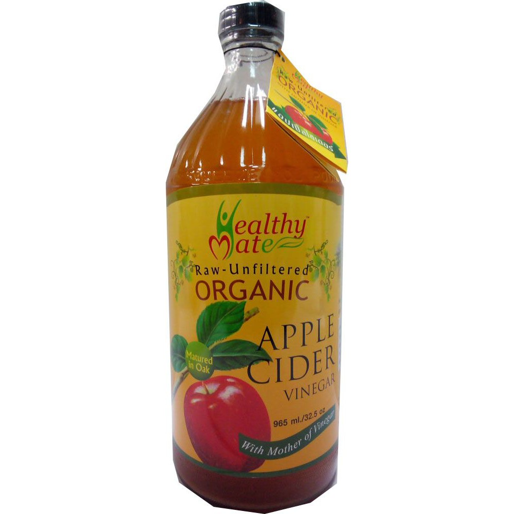 Happy Mate Raw Org Apple Cider Vin 965ml ราคาพิเศษ