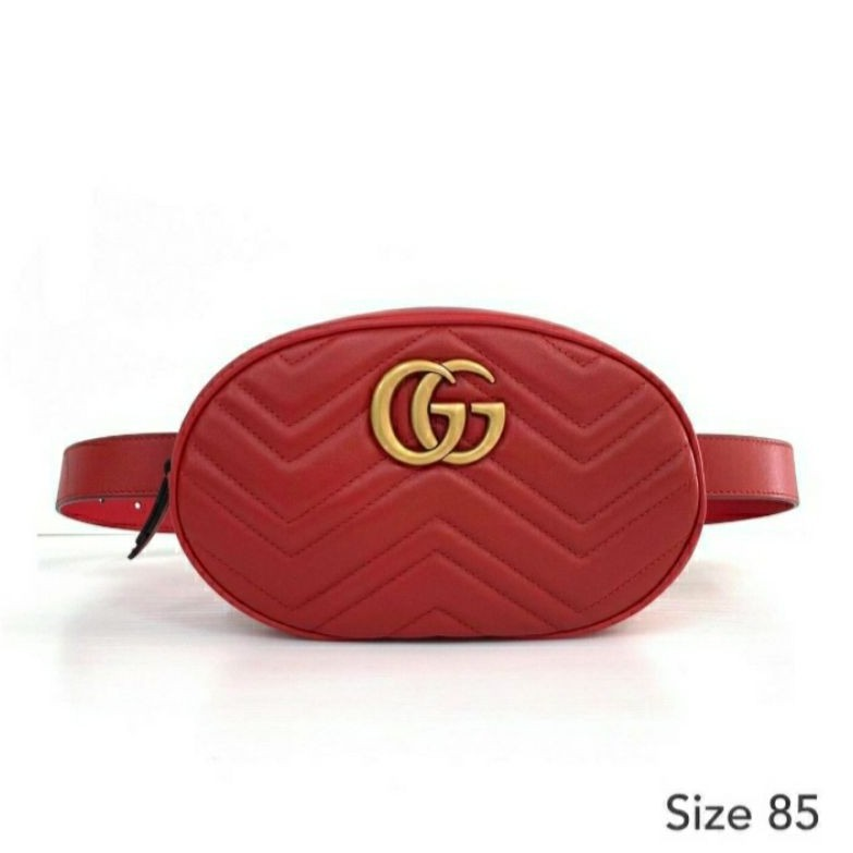 GUCCI Marmont Belt Bag ของแท้ 100% [ส่งฟรี]