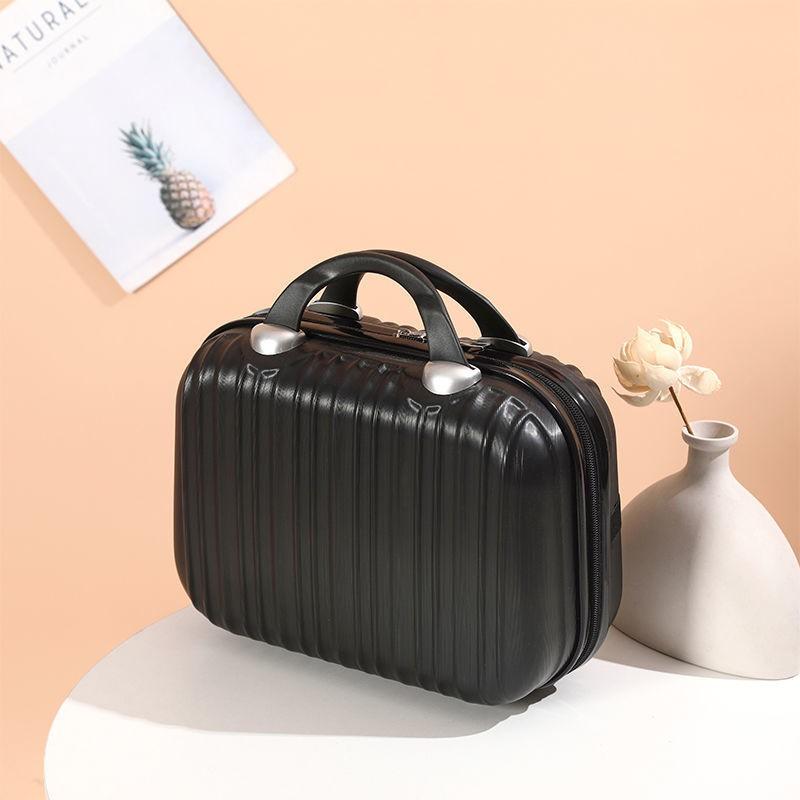 ✣เคสเครื่องสำอางน่ารักสาวมือ- กระเป๋าเก็บกระเป๋าเดินทางขนาดเล็ก 14 นิ้วความจุขนาดใหญ่งานแต่งงานเด็ก-แม่ 13 กล่องขนาดเล็ก