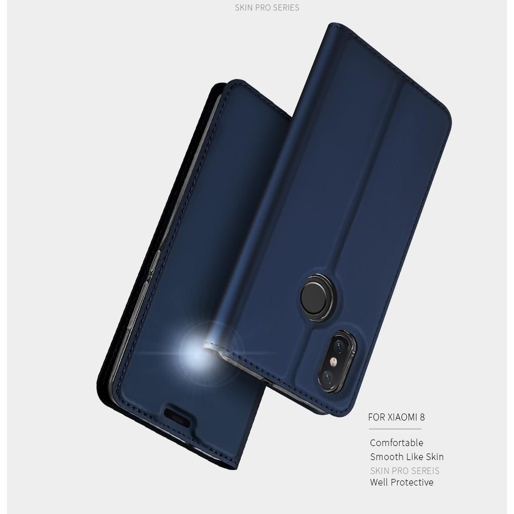 เคสฝาพับเคสโทรศัพท์หนังฝาพับพร้อมช่องใส่บัตรสําหรับ Xiaomi Mi 8 9 A 2 Lite Redmi Go S 2 Note 5 6 7 Pro