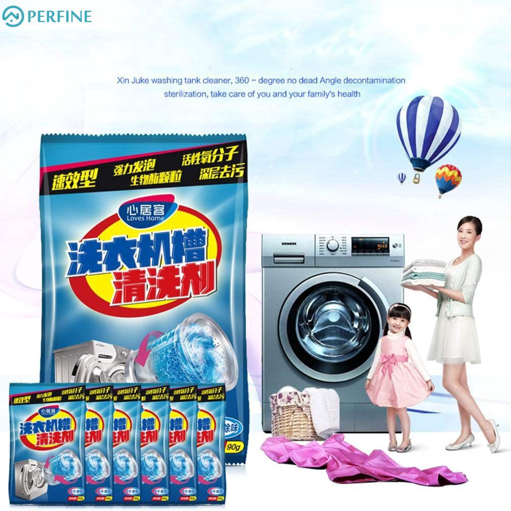 Powder Washer Cleaner Effective Washing Machine Cleaner Laundry Tank Cleaner ❤BIU❤