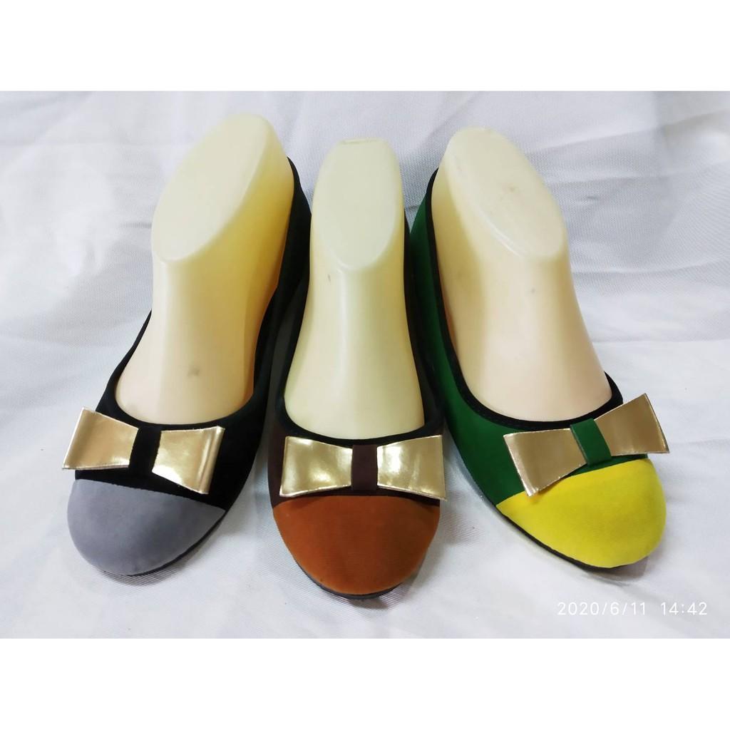 รองเท้าคัชชู โบว์น่ารัก รองเท้าแบบสวม รองเท้าส้นแบน  ราคาพิเศษ มากๆ