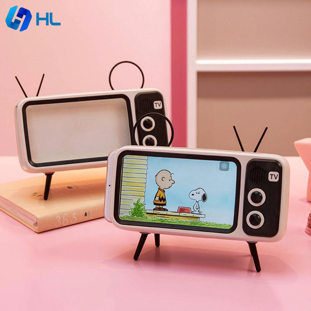 Wireless Bluetooth Stereo Speaker FM AUX Radio USB TF Alarm Clock LCD Display HL