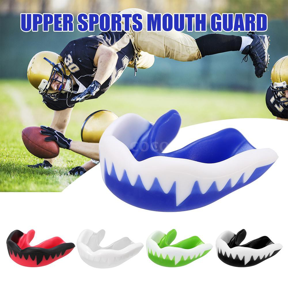 NEW Mouth Guard Gum Shield Teeth Protector YOUTH BLUE Boxing Karate Football FSH