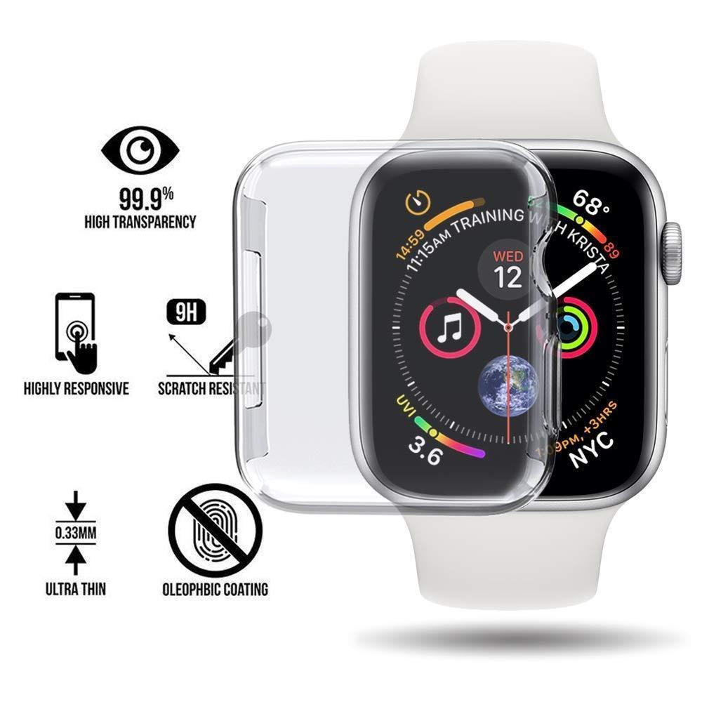 เคสนาฬิกาข้อมือ Apple Watch Series 1 2 3 4 5 9 H Hard Pc Case