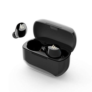 Edifier TWS1 True Wireless Earbuds  Up to 32 Hour Battery Life with Charging Case and Mic, Bluetooth v5.0 aptX, IPX5