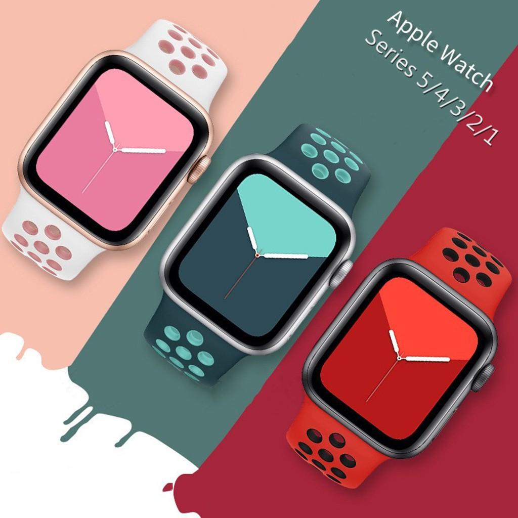NIKE สายนาฬิกาข้อมือ Apple Watch Series 5 , 4 , 3 , 2 , 1 40 สี