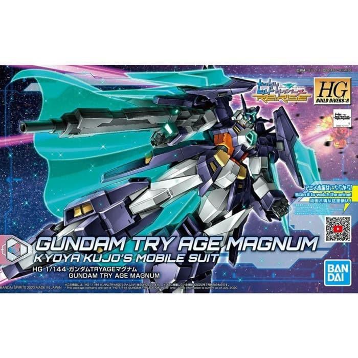Hg Gundam Try Age Magnum Hgbdr 027 ชุดโมเดลฟิกเกอร์แม่เหล็ก