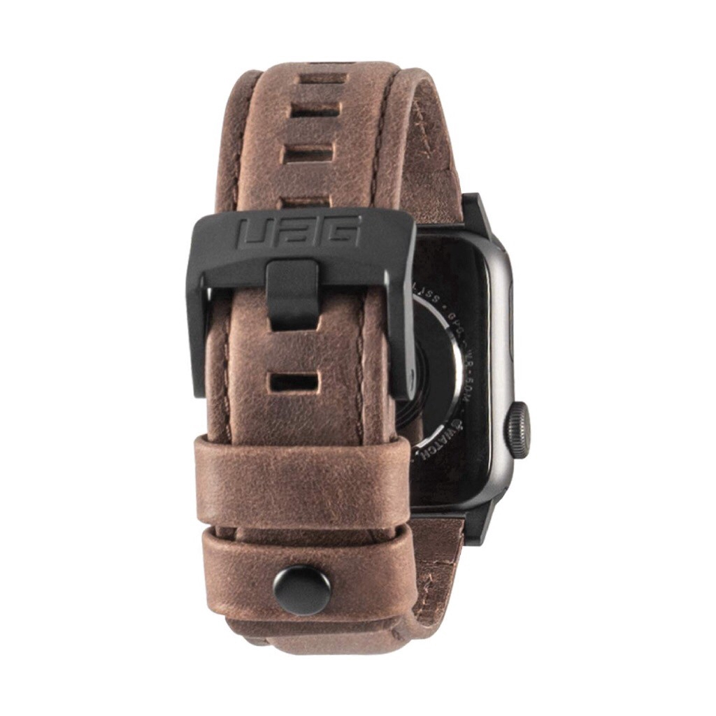 [READY STOCK]UAG Apple Watch leather strap For Apple Watch 38/40mm 42/44mm Apple Watch Strap series 1/2/3/4/5  iWatch Protector Cover สาย