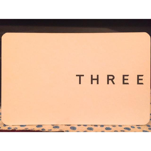 บัตรแต่งหน้า THREE & BURBERRY
