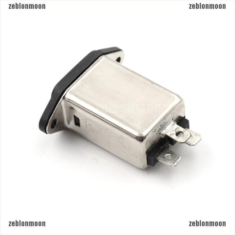 1PCS EMI RFI Filter AC 250V 10A CW1D-10A-T Suppressor Power Line Noise Filter xc