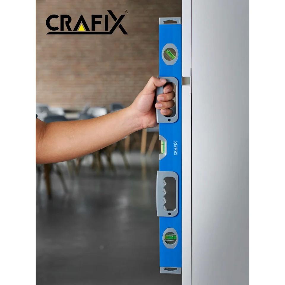 ระดับน้ำแม่เหล็ก เครื่องวัดระดับน้ำ 60 ซม. ไม้วัดระดับน้ำ เครื่องมือวัดระดับน้ำ ที่วัดระดับน้ำ อุปกรณ์วัดระดับน้ำ CRAFIX