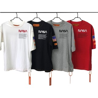 NASA Collegiate Letters /& Logo Graphic T-Shirt