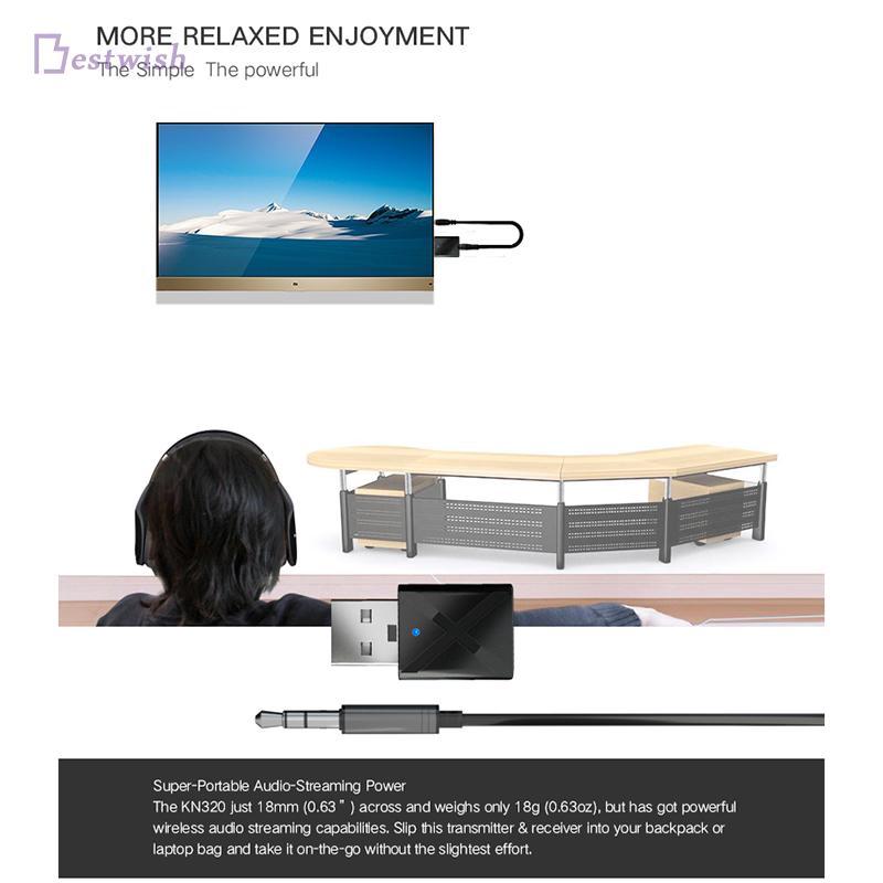 อะแดปเตอร์ 2.4 Mhz AUX 32 x 17 x 8.5 มม. 1 ชุดอุปกรณ์เสริมสำหรับ TV / PC