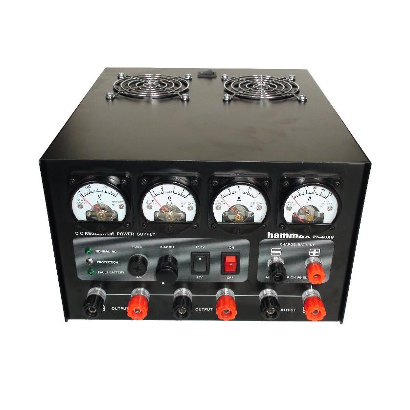 HAMMAX PS-48XII เร็กกลูเรเตอร์ 40แอมป์ ให้หม้อแปลงทอร์ลอยด์ ปรับค่าได้ 3-15V. สินค้ารับประกัน 1ปี