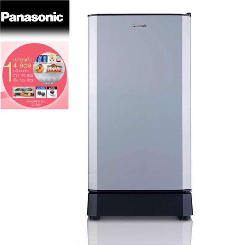 Panasonic ตู้เย็น 1ประตู ขนาด 6.5 คิว รุ่น NR-AH188R สีเทา