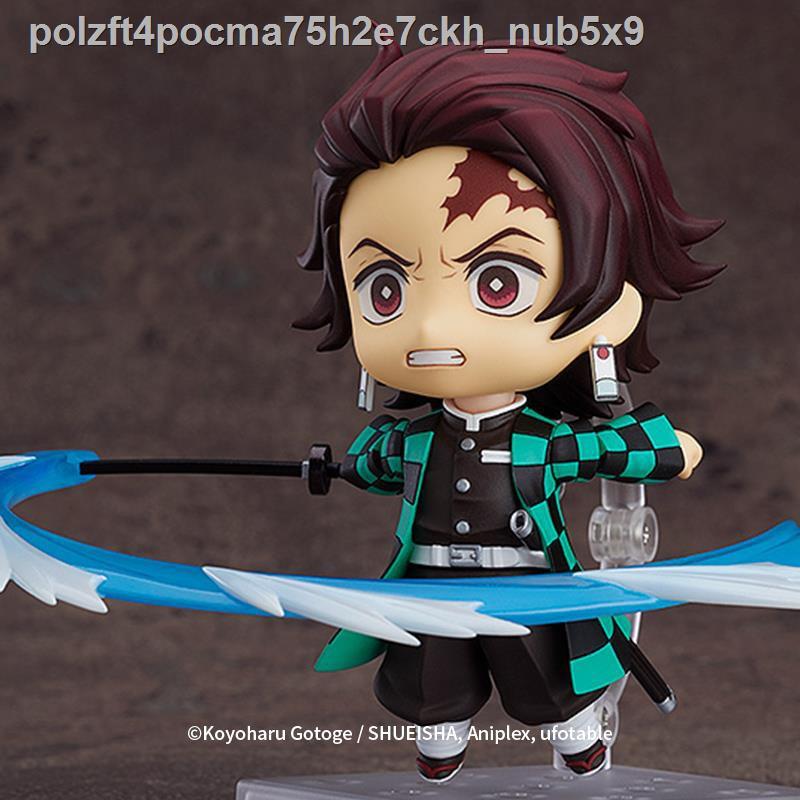 ราคาถูกแฟชั่น∈[Spot GSC] Nendoroid Tanjirou (Secondary Note) Demon Slayer Blade Figure Anime Model