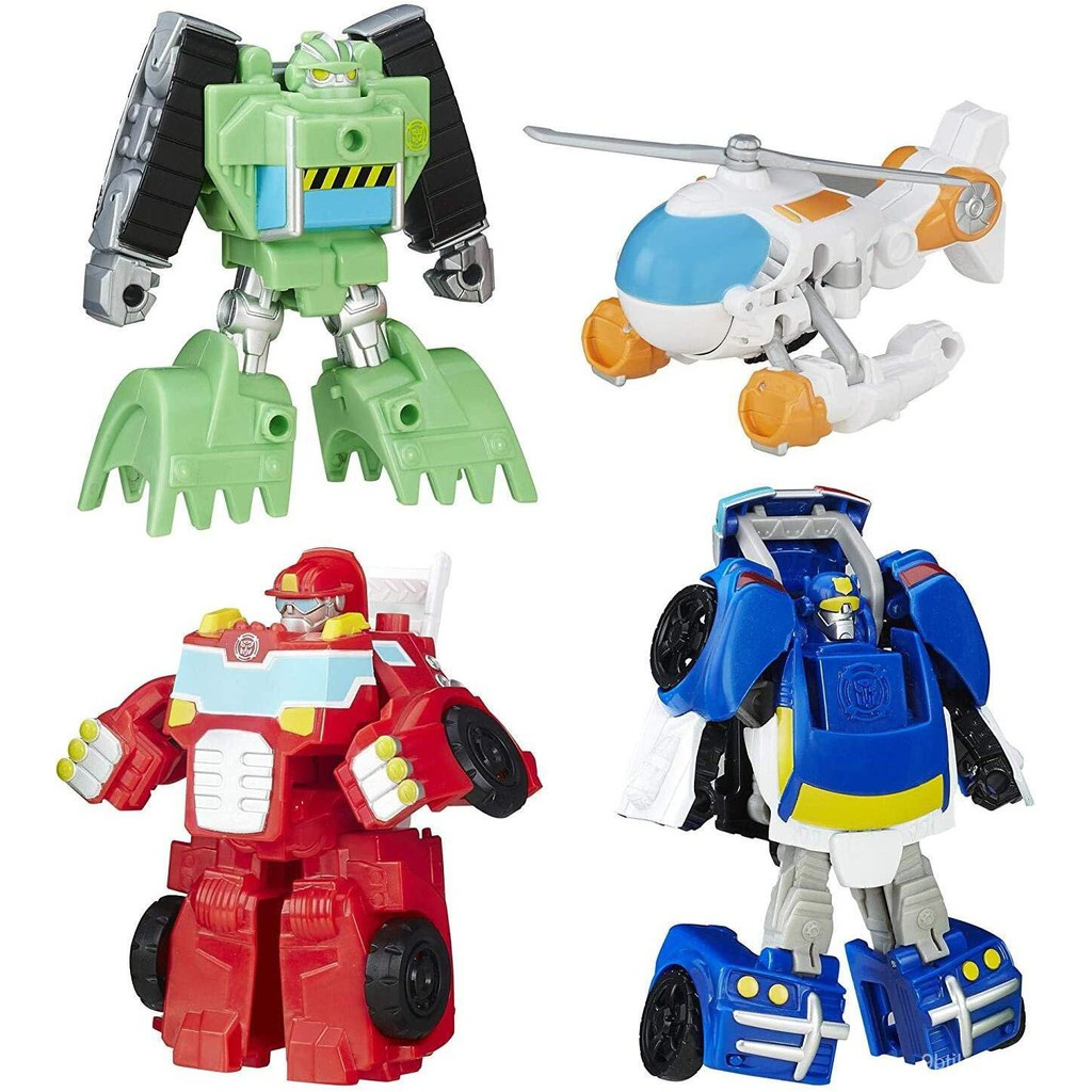 Hasbro Transformers Rescue Bots Griffin Rock Rescue Team Action Figure Toys 18CM ABS Collection Transformer Robot Birthd