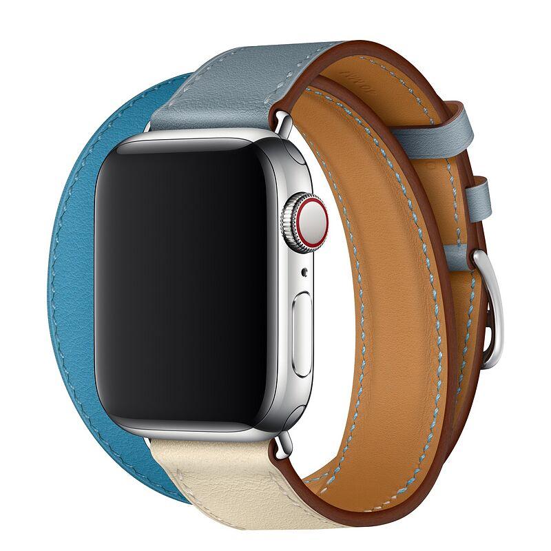 สำหรับ Apple Watchiwatch6สายรัดapplewatch3/4/5/SE/6สายรัดข้อมือหนังiphone series5เปลี่ยนสายนาฬิกาApple unisexพร้อมแฟชั่น