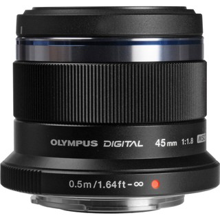 Olympus Lens M. Zuiko Digital ED 45mm f/1.8 (Black) (ประกัน EC-Mall)