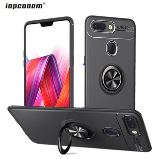 Review Xiaomi Mi 8 Lite Case Magnetic Ring Silicone Soft Back Cover Xiaomi Mi8 Lite