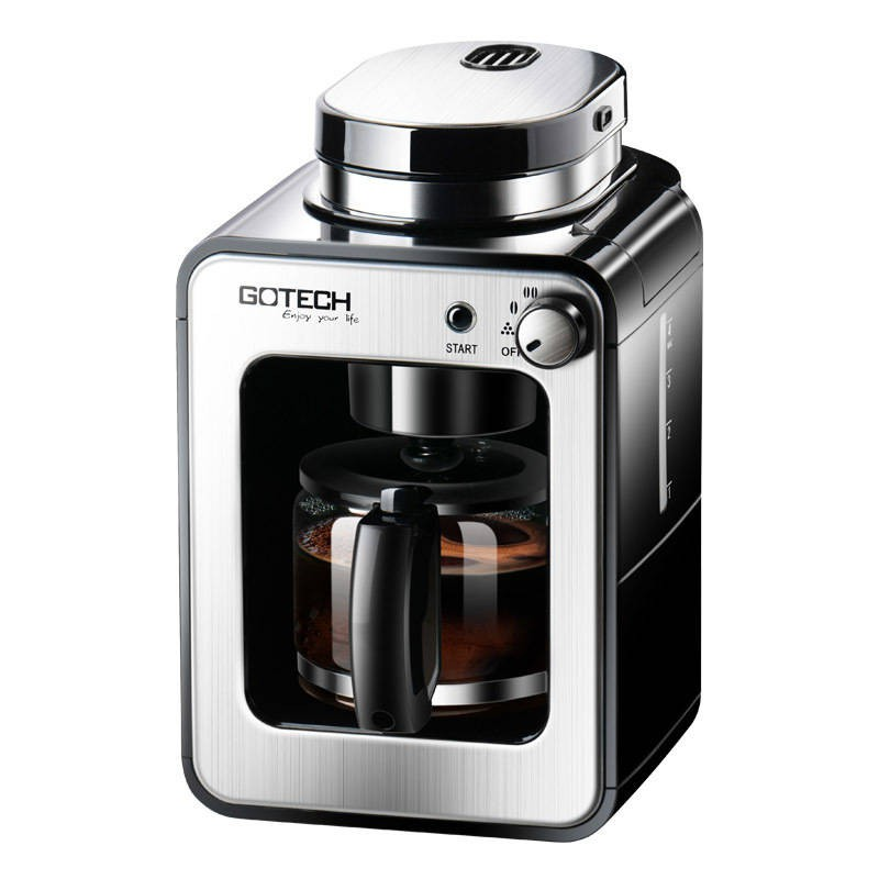 Gaotai ทำจากเครื่องชงกาแฟที่บ้านอัตโนมัติเครื่องหนึ่งเครื่องเครื่องชงกาแฟอเมริกันขนาดเล็กไฟฟ้าขนาดเล็กขัด