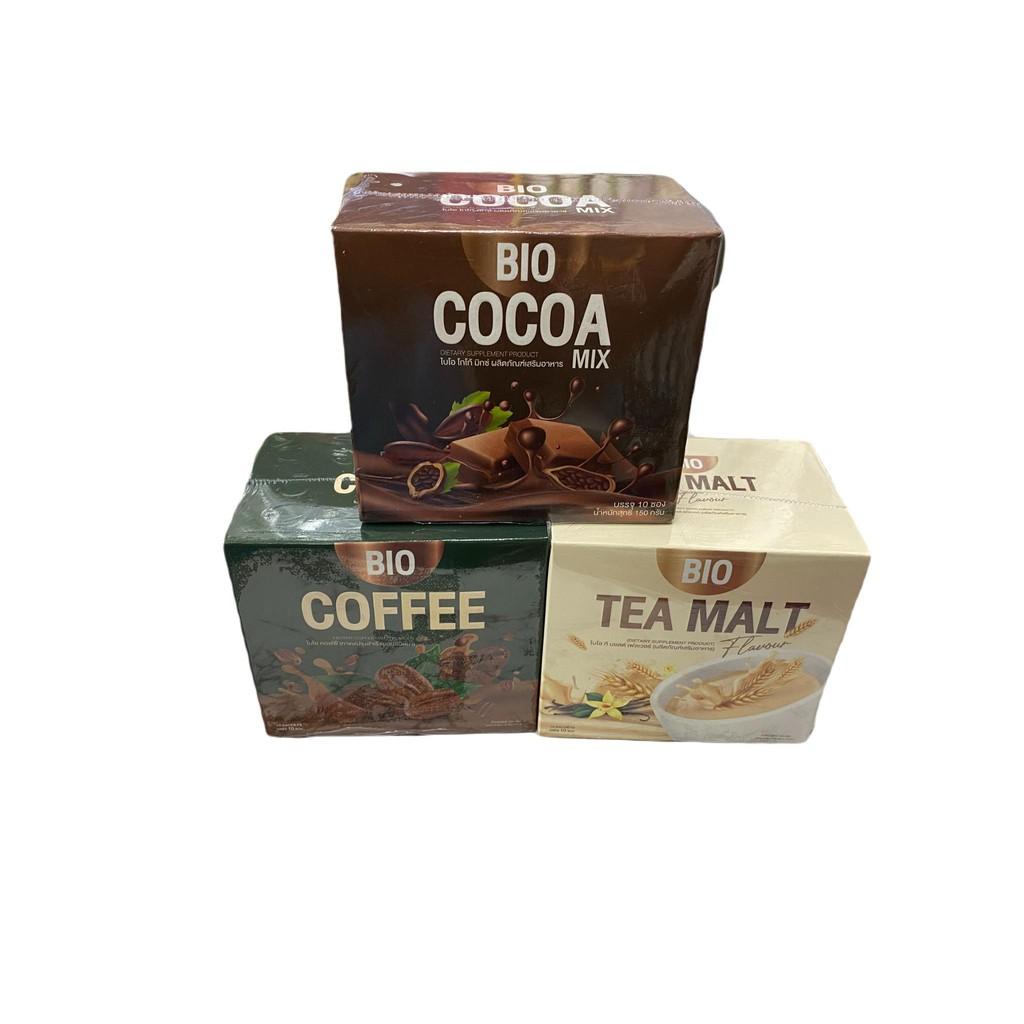 (ซื้อ2แถม1)BioCocoa mix khunchan ไบโอ โกโก้มิกซ์ โกโก้ดีท็อกซ์ มี3รสชาติ พร้อมส่งของแท้100%