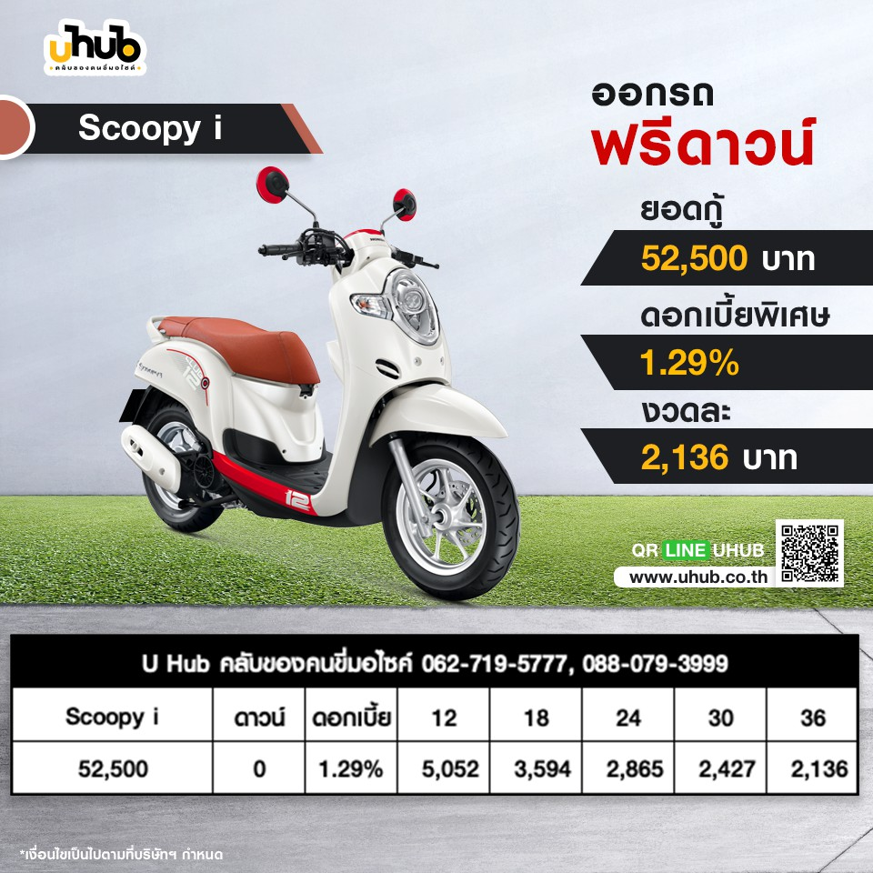 Honda Scoopy i Club 12 (2019)