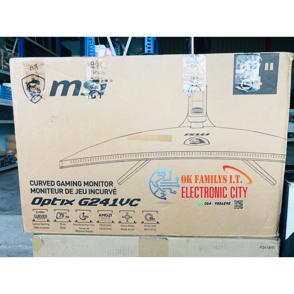 """💥ลดล้างสต็อค💥 MONITOR (จอมอนิเตอร์) MSI OPTIX G241VC 23.6"""" VA 75Hz"""