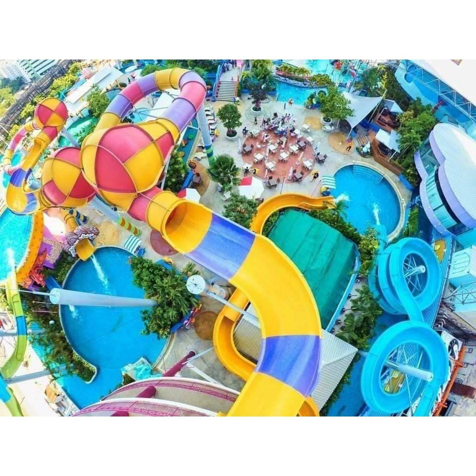 จัดส่งรวดเร็ว บัตรสวนน้ำ โพโรโระ Pororo Aquapark Voucher สวนน้ำ.