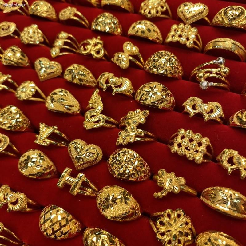 ราคาต่ำสุด❅ﺴ✵FFS แหวนทองครึ่งสลึง ลายแฟนซี หนัก 1.9 กรัม ทองคำแท้96.5%