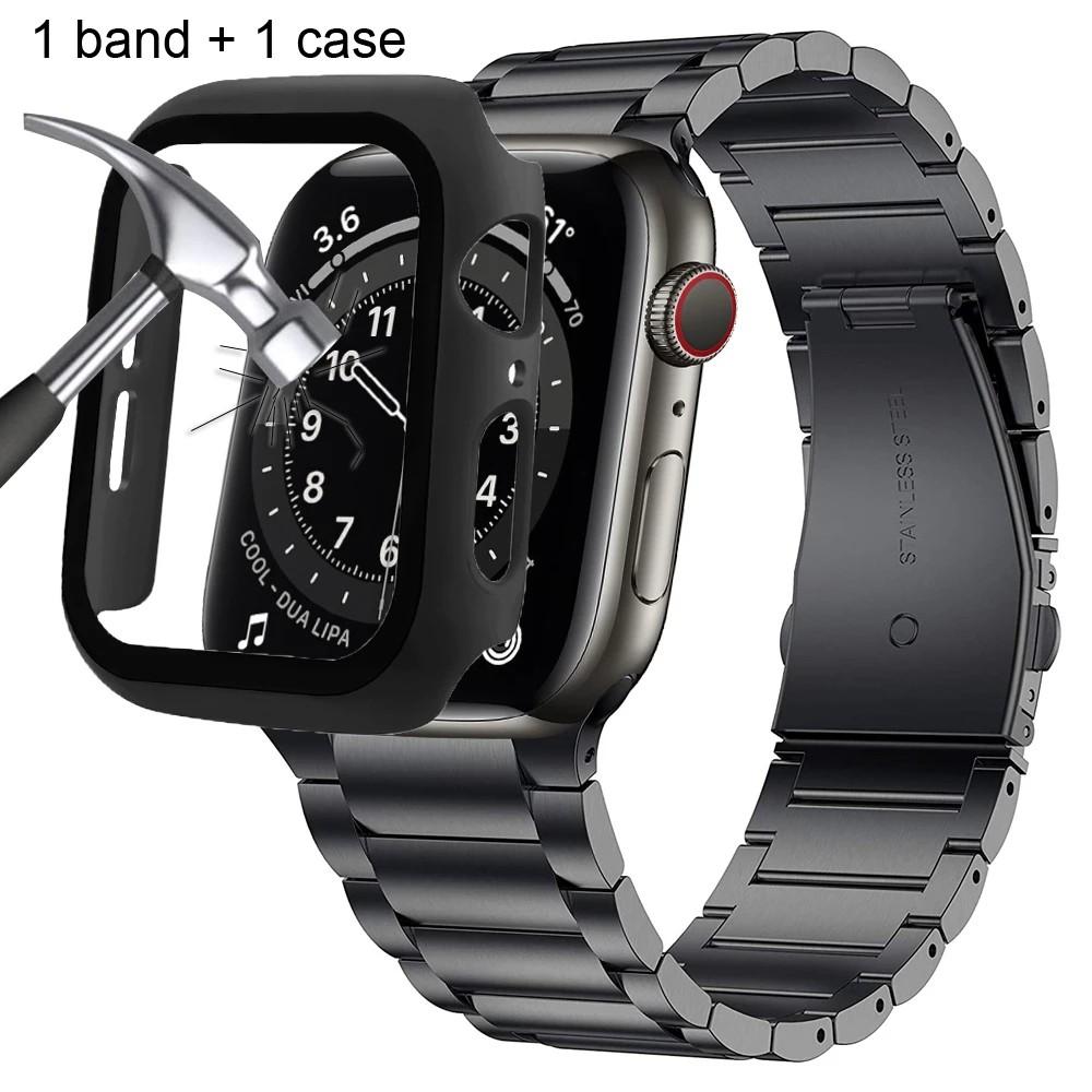 เคส + สายคล้องสําหรับ Apple Watch 6 Se Band 44 มม . 40 มม . Series 4 5