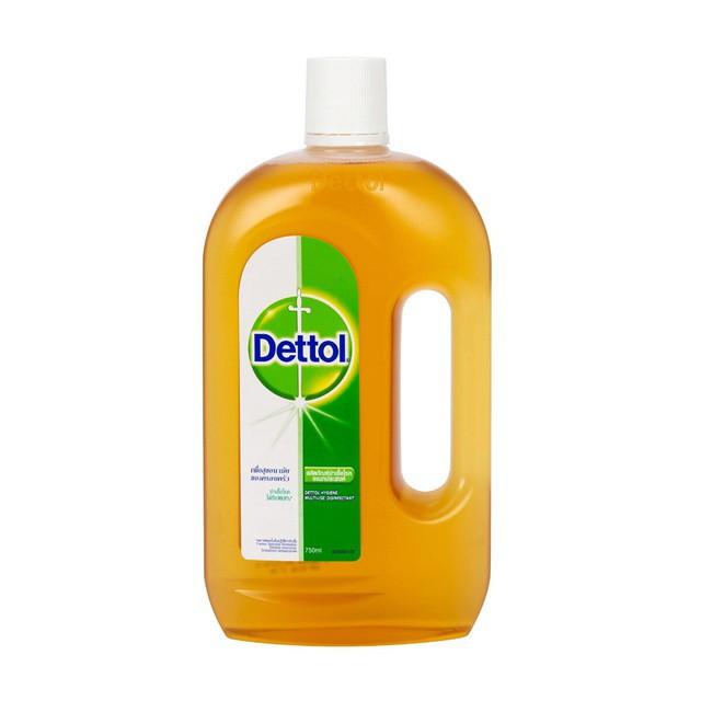 เดทตอล dettol เจลล้างมือ น้ํายาฆ่าเชื้อ dettol Dettol น้ำยาฆ่าเชื้ออเนกประสงค์ 750 ml