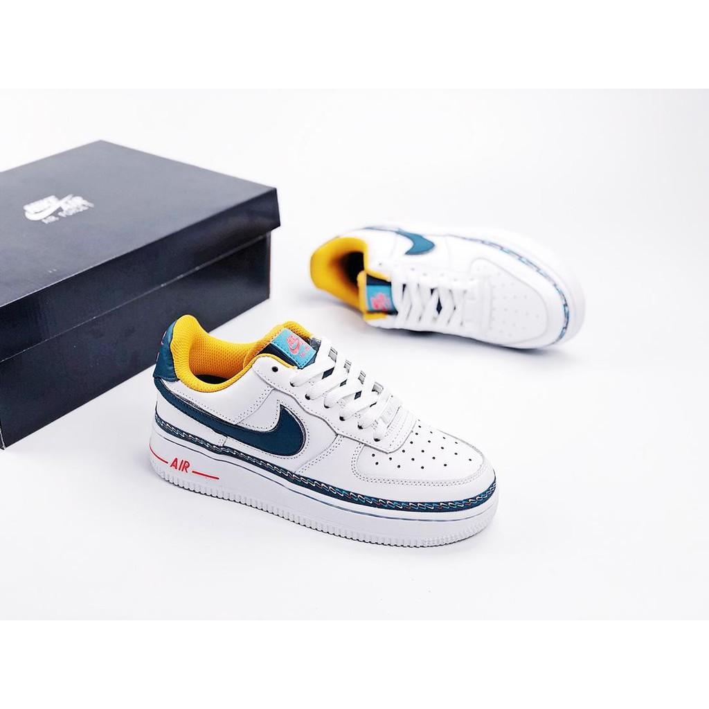 รองเท้าผ้าใบ Nike Air Force 1 ' 07 Lv 8 Air Force No . 1 สําหรับผู้ชายรองเท้าลำลอง