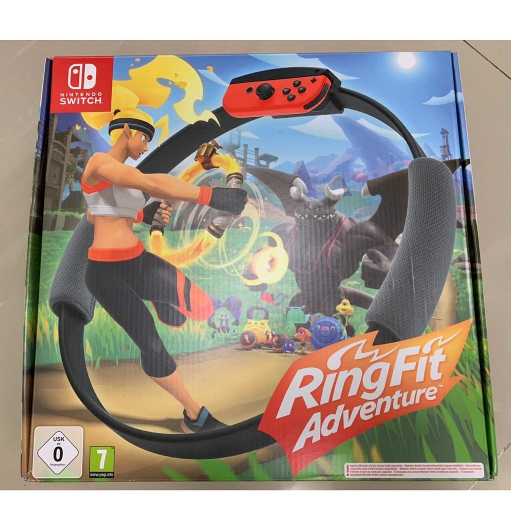ริงฟิต Ring fit adventure for nintendo switch ของแท้ (มือสอง) สภาพดี