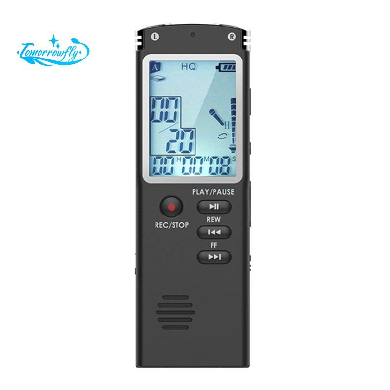 Mini Hidden Digital Voice Activated Recording Audio Recorder 96 Hours 8GB