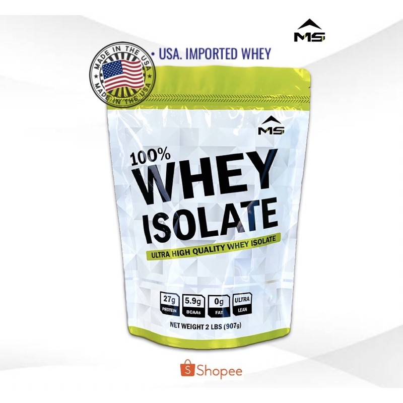 ??เวย์โปรตีน Whey Isolate เพิ่มกล้ามลดไขมัน??.