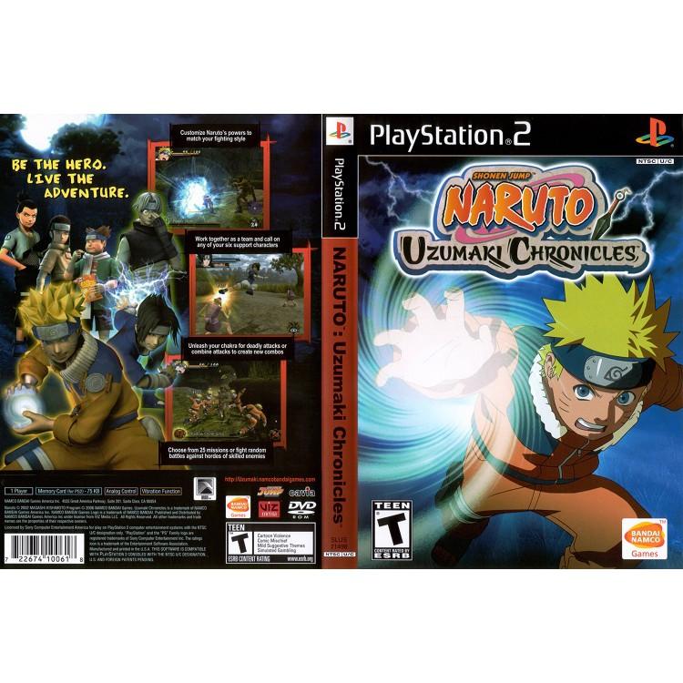 NARUTO UZUMAKI CHRONICLES 1 [PS2 US : DVD5 1 Disc]