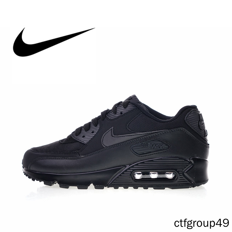 Original Authentic Nike Air Max 90 Essential Men's Running Shoes Sport Outdoor Breathable Sneakers