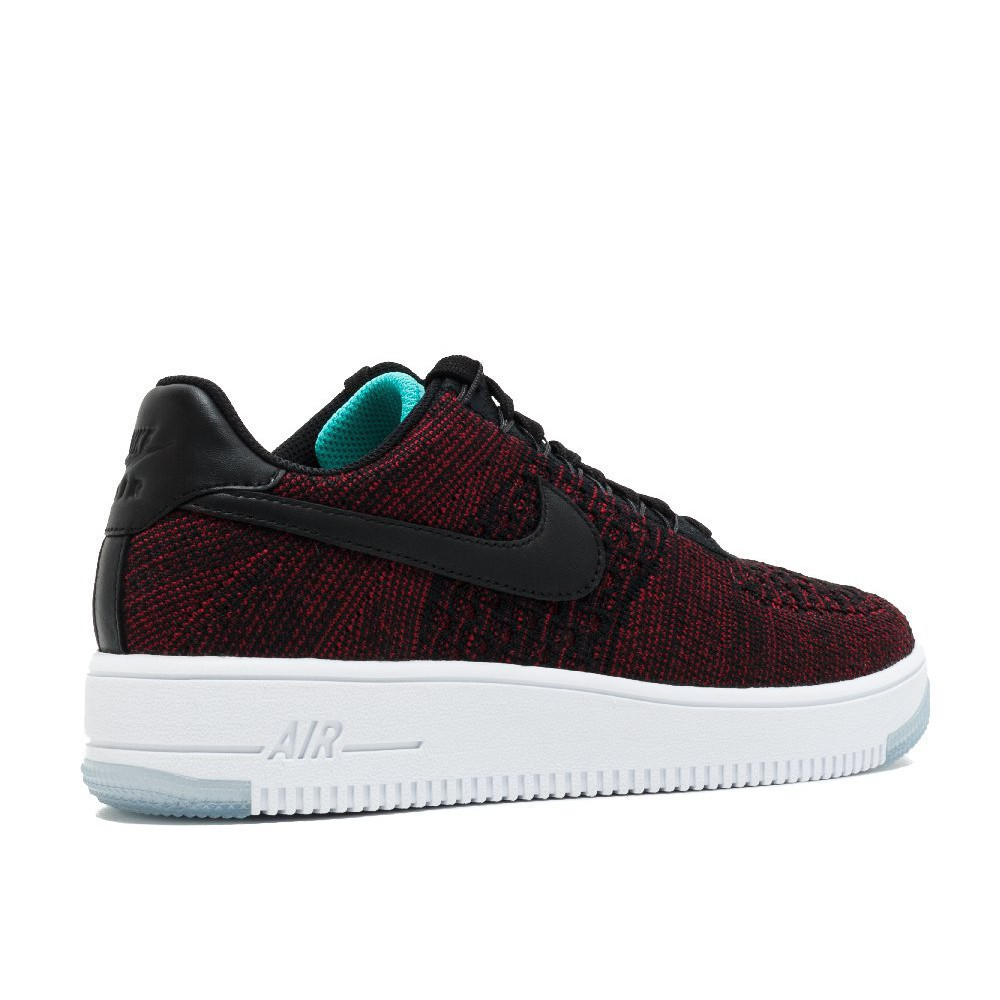 newest collection e2488 ece44 Nike W AIR FORCE 1 Flyknit low รองเท้าผ้าใบลำลอง
