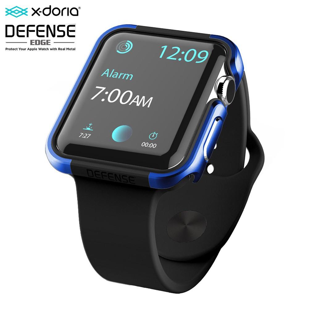 X-Doria Defense Edge เคส Apple Watch 1, 2, 3 (42 mm) Case X-Doria Defense Edge Metal Guard สีน้ำเงิน Blue
