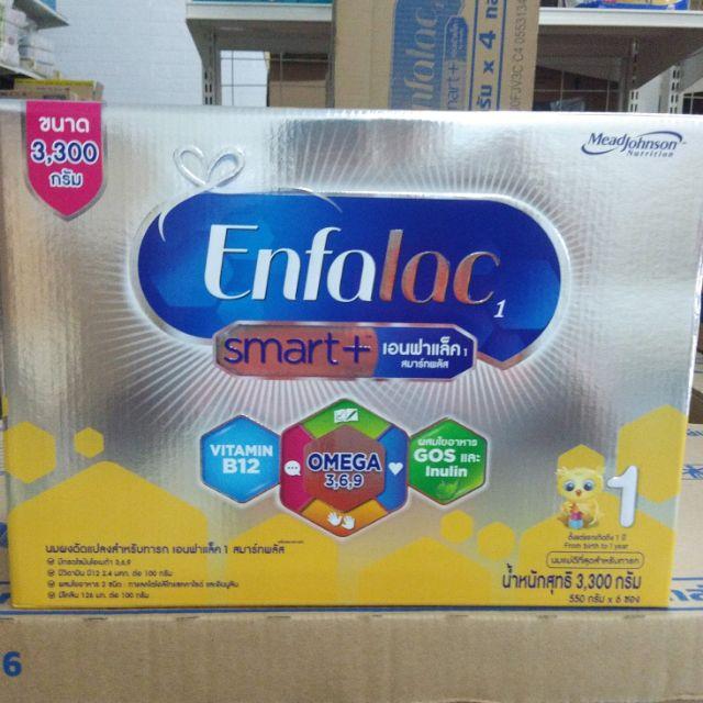 Enfalac smart +1 สูตร1 ขนาด 3300กรัม
